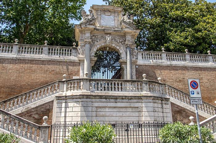 Trevi: Via XXIV Maggio - Giardini di Montecavallo Rom
