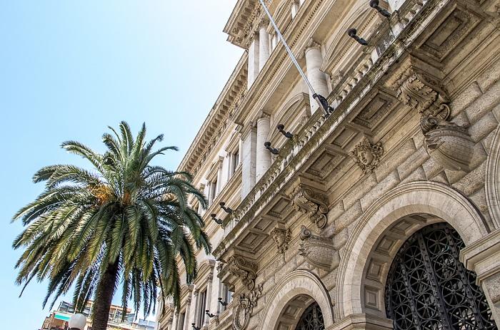 Monti: Via Nazionale - Banca d'Italia Rom