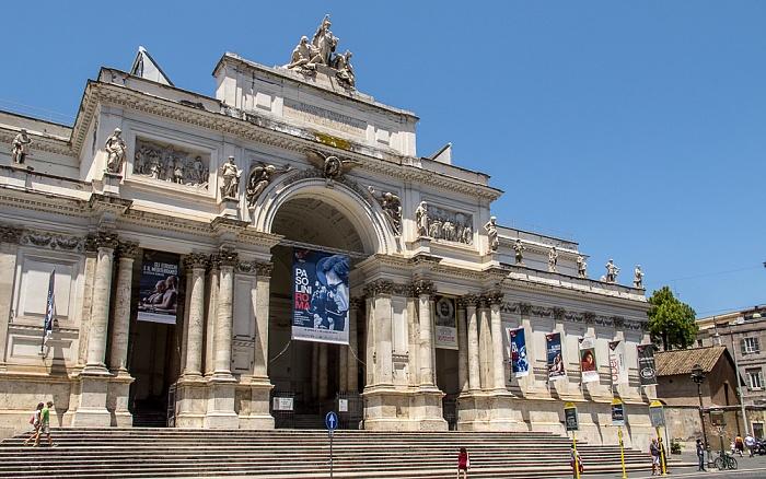 Monti: Via Nazionale - Palazzo delle Esposizioni Rom