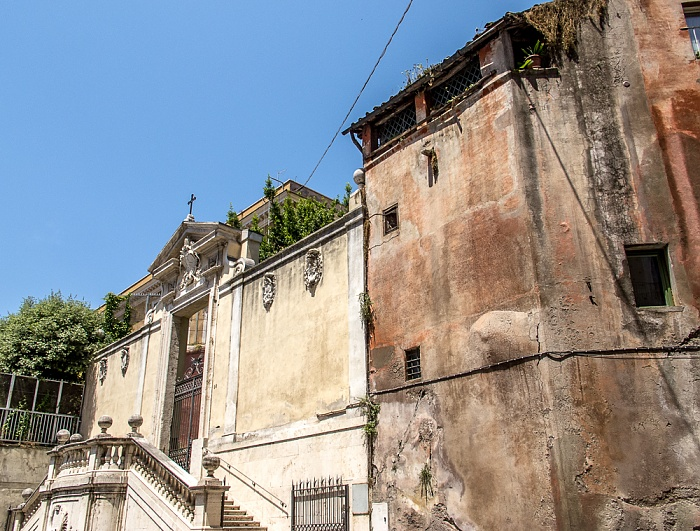 Monti: Via Panisperna - Chiesa di San Lorenzo in Panisperna Rom