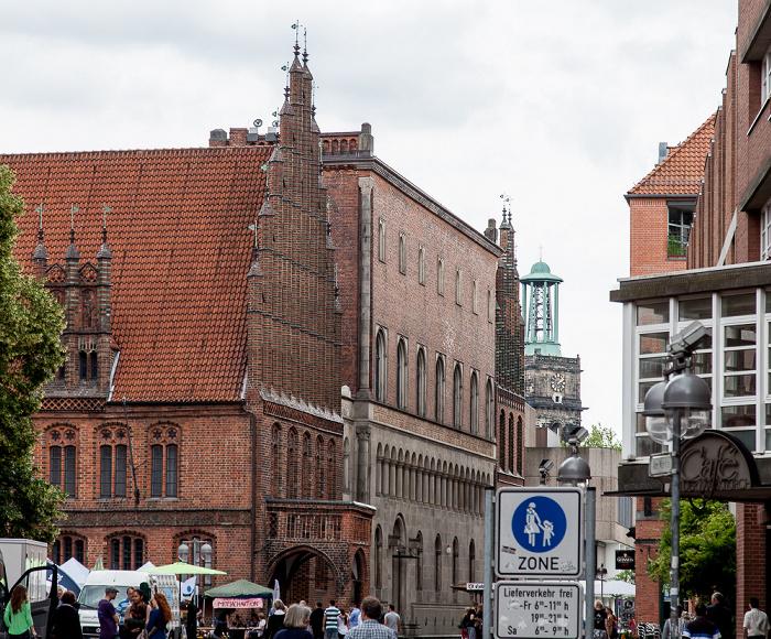 Hannover Altstadt: Altes Rathaus Aegidienkirche