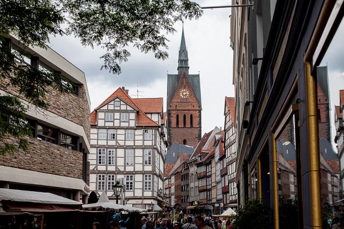 Hannover Altstadt: Pferdestraße, Holzmarkt, Kramerstraße, Marktkirche Historisches Museum Hannover