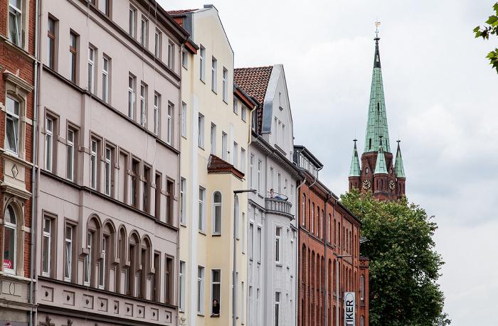 Hannover Oststadt: Celler Straße Apostelkirche