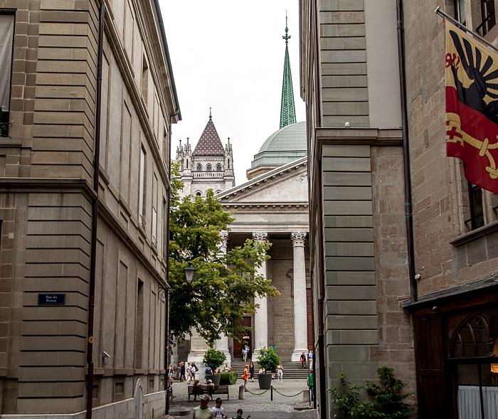 Genf Cité-Centre: Rue Otto Barblan Cathédrale Saint-Pierre