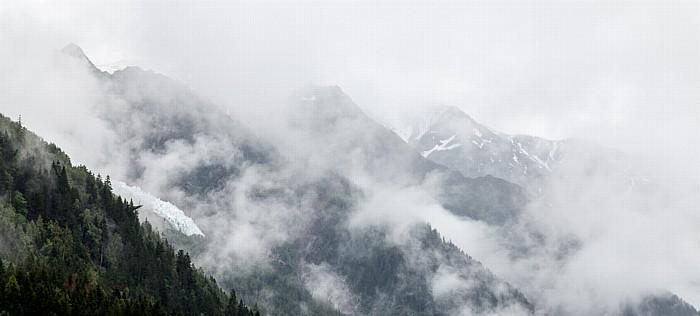 Chamonix Mont-Blanc-Massiv Glacier des Bossons