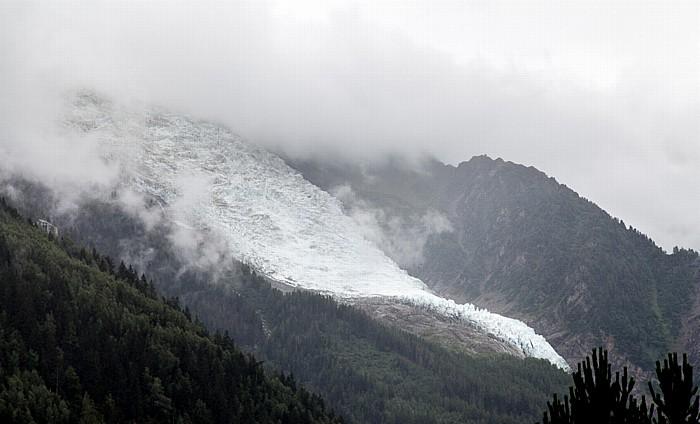 Chamonix Mont-Blanc-Massiv: Glacier des Bossons