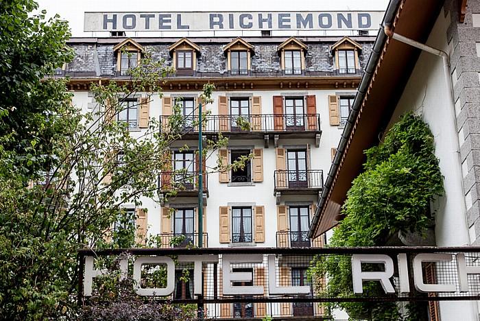 Chamonix Rue du Docteur Paccard: Hotel Richemond