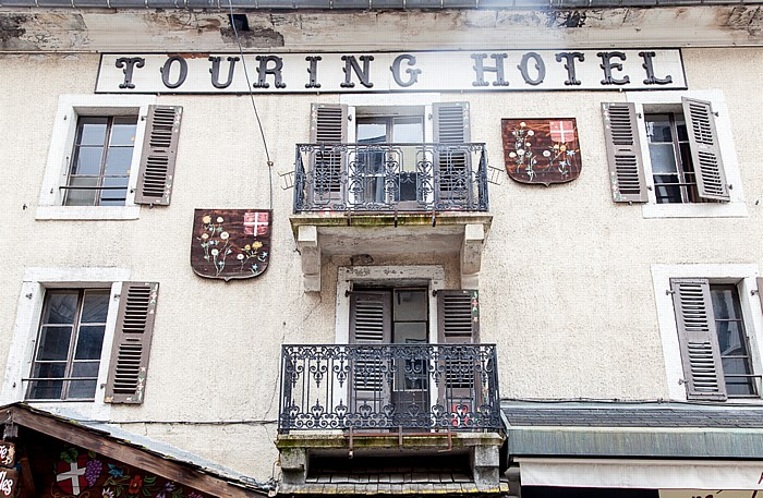Chamonix Rue Joseph Vallot: Hotel Le Touring