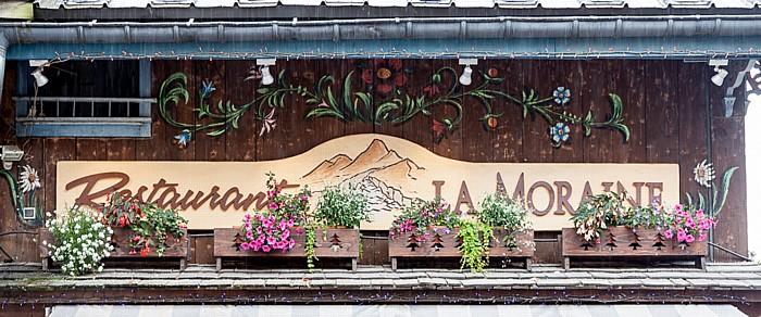 Chamonix Restaurant La Moraine