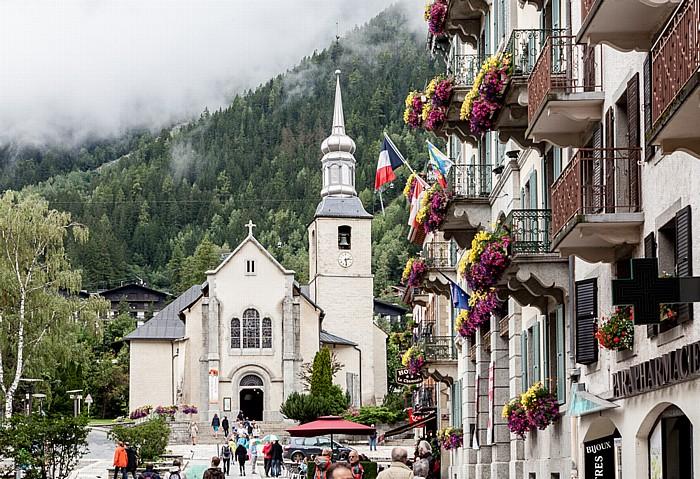 Chamonix Église Saint-Michel