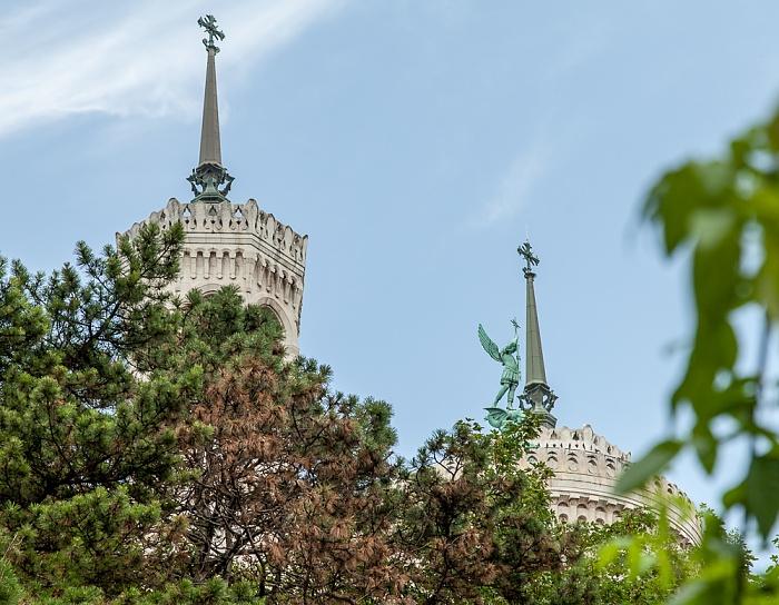 Lyon Fourvière: Türme der Basilique Notre-Dame de Fourvière