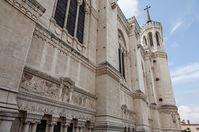 Lyon Fourvière: Basilique Notre-Dame de Fourvière