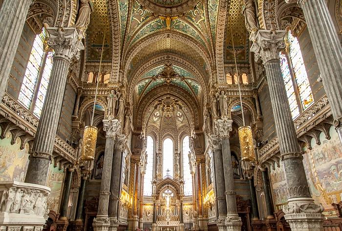 Basilique Notre-Dame de Fourvière Lyon