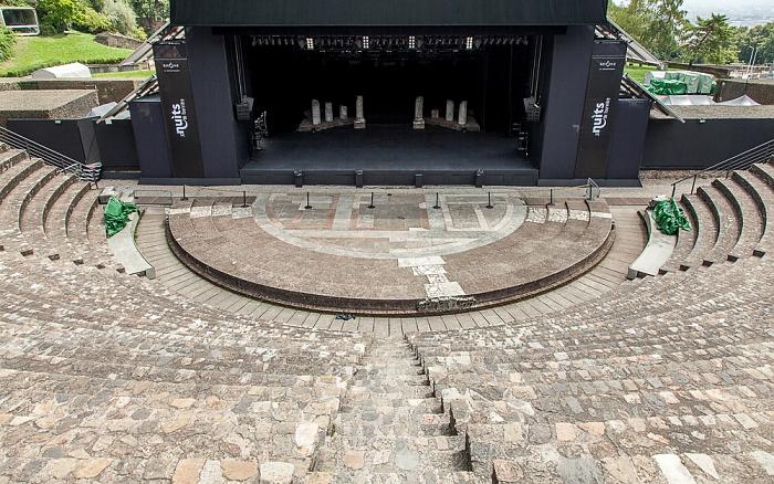 Lyon Fourvière: Théâtre antique romain de Lugdunum