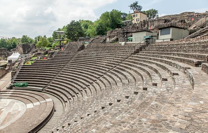 Fourvière: Théâtre antique romain de Lugdunum Lyon