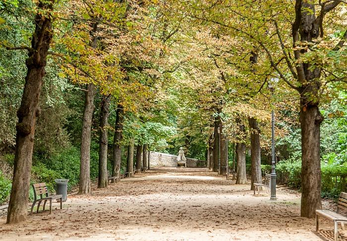 Lyon Fourvière: Jardin du Rosaire