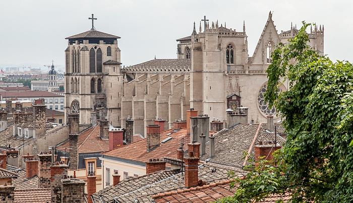 Vieux Lyon: Cathédrale Saint-Jean-Baptiste Hôpital de la Charité de Lyon