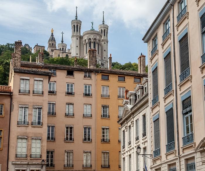 Vieux Lyon: Place Saint-Jean Basilique Notre-Dame de Fourvière Fourvière