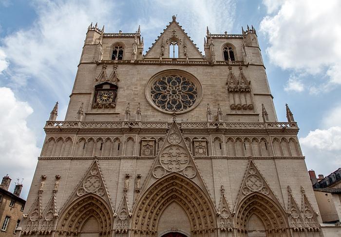 Vieux Lyon: Cathédrale Saint-Jean-Baptiste