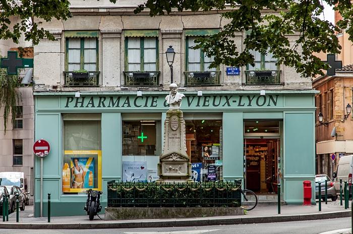 Vieux Lyon: Avenue du Doyenné Lyon