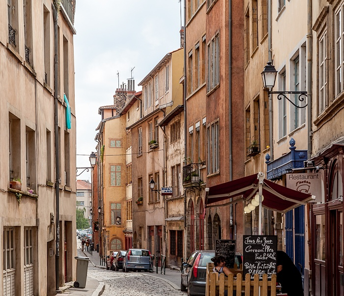 Vieux Lyon: Rue Saint-Georges Lyon