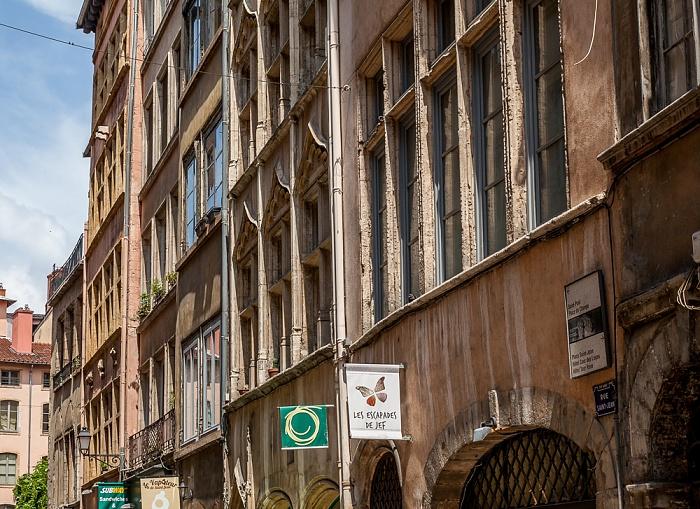 Vieux Lyon: Rue Saint-Jean Lyon