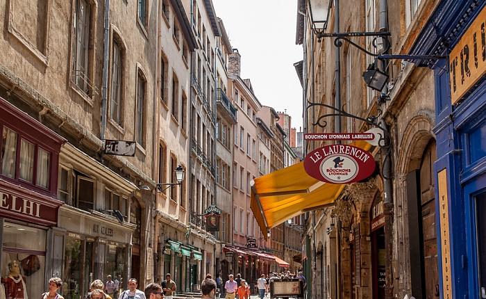 Vieux Lyon: Rue Saint-Jean - Le Laurencin