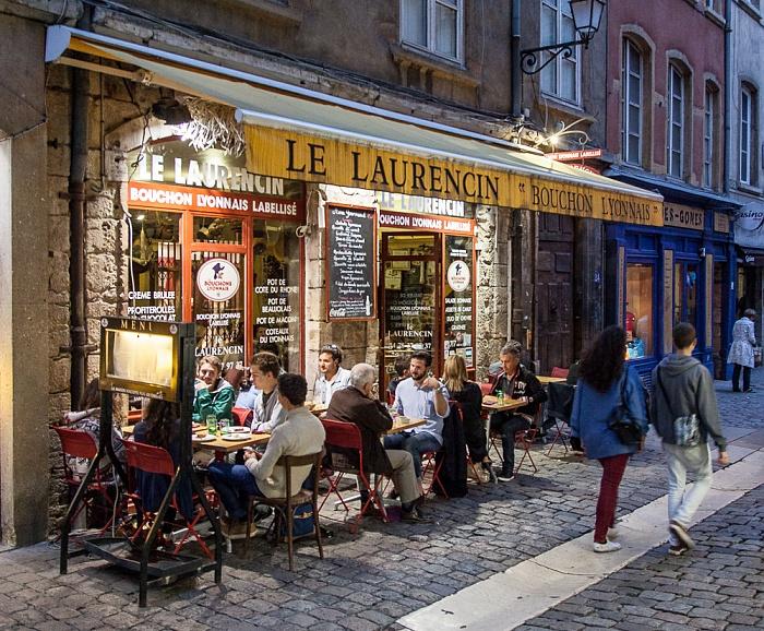 Vieux Lyon: Rue Saint-Jean - Le Laurencin Lyon