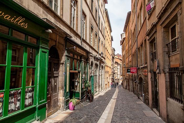 Vieux Lyon: Rue du Boeuf Lyon