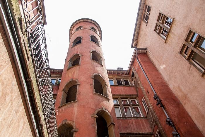 Vieux Lyon: Traboule de la Tour Rose
