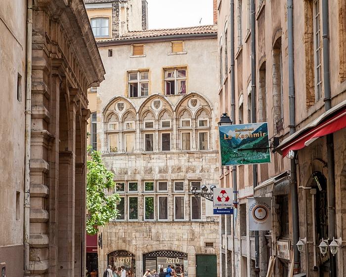Vieux Lyon: Rue Soufflot Maison Thomassin