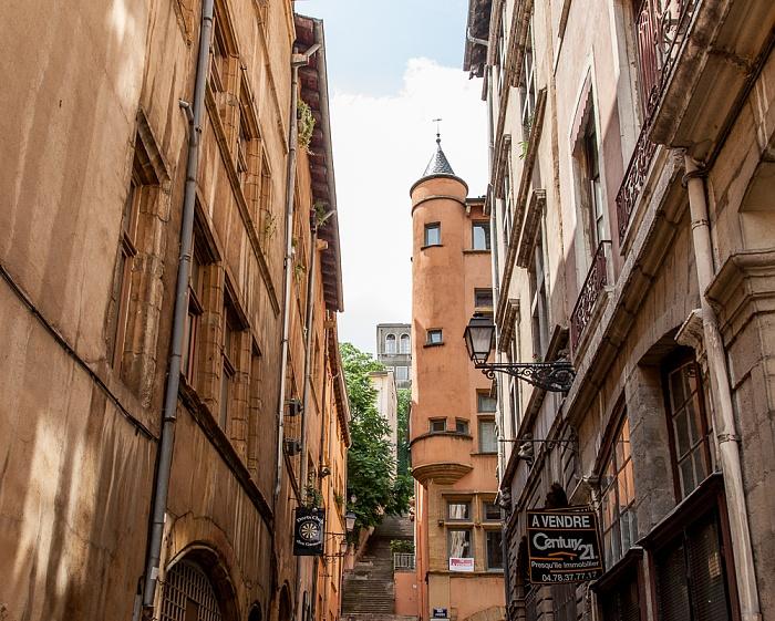 Vieux Lyon: Rue de la Loge / Rue Juiverie