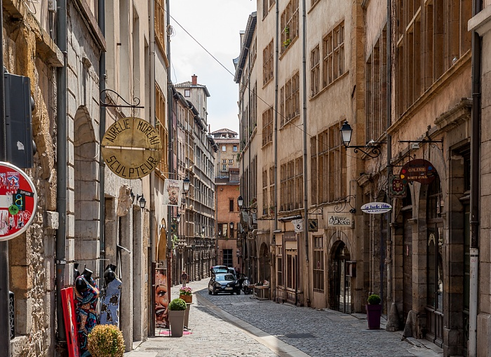 Vieux Lyon: Rue Juiverie Lyon