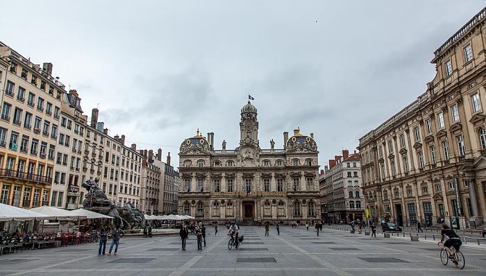 Lyon Presqu'île (Halbinsel): Place des Terreaux und Hôtel de Ville Fontaine Bartholdi Musée des Beaux-Arts Palais Saint-Pierre