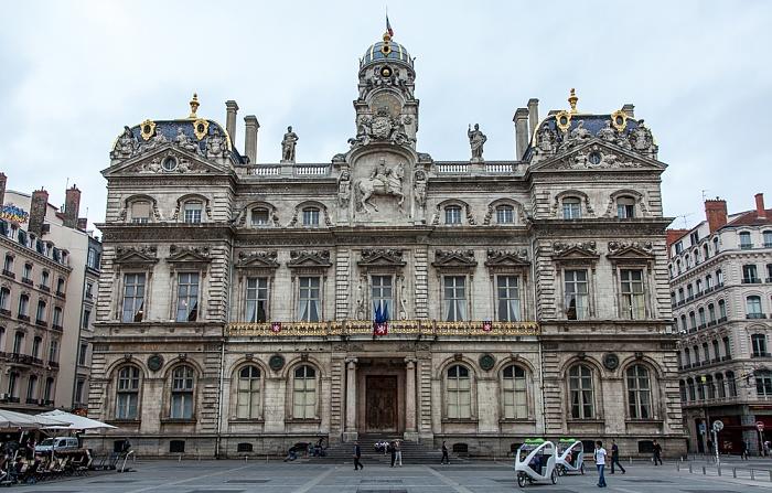 Lyon Presqu'île (Halbinsel): Place des Terreaux und Hôtel de Ville