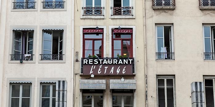 Lyon Presqu'île (Halbinsel): Place des Terreaux - Restaurant L'Étage
