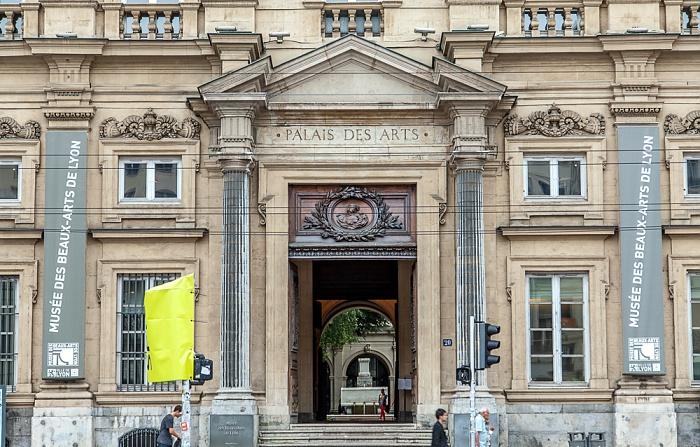 Presqu'île (Halbinsel): Place des Terreaux - Palais Saint-Pierre (Musée des Beaux-Arts) Lyon