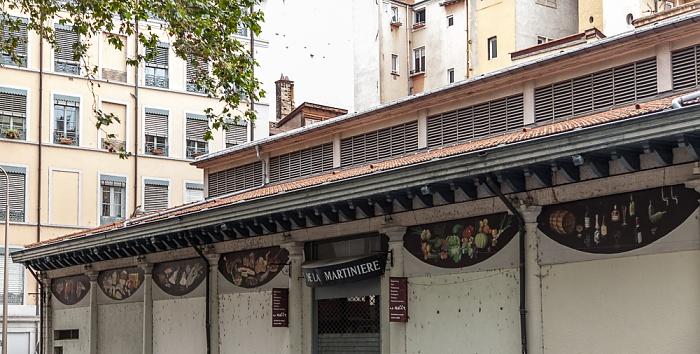 Lyon Presqu'île (Halbinsel): Halle de la Martinière