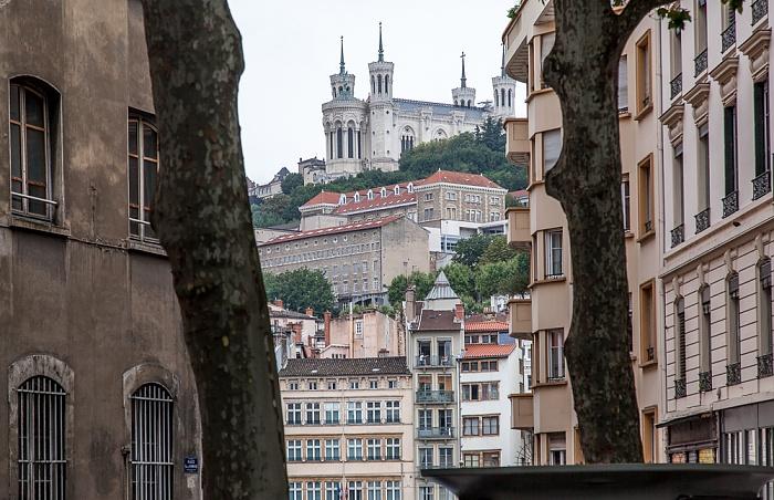 Lyon Presqu'île (Halbinsel) Basilique Notre-Dame de Fourvière Fourvière