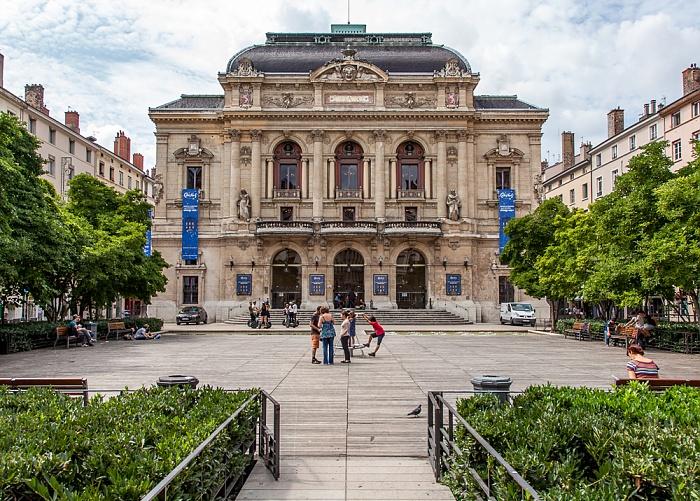 Presqu'île (Halbinsel): Place des Célestins, Théâtre des Célestins Lyon
