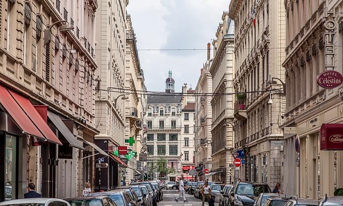 Lyon Presqu'île (Halbinsel): Rue des Archers Rue de la République