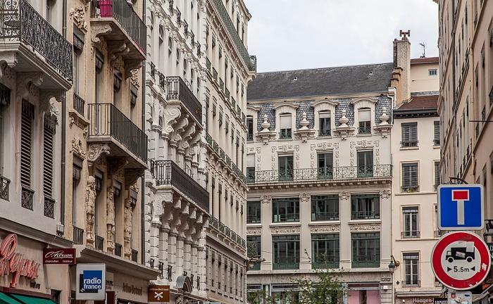 Presqu'île (Halbinsel): Rue des Archers / Rue de la République Lyon