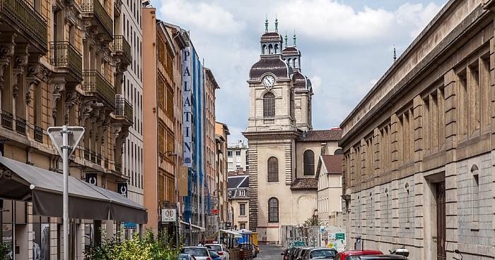 Lyon Presqu'île (Halbinsel): Rue Bellecordière, Chapelle de l'Hôtel-Dieu