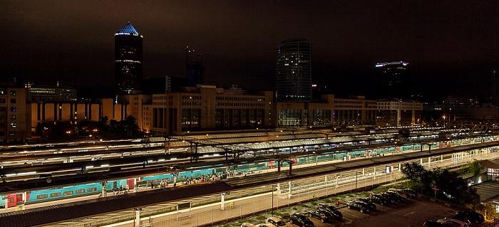 Blick aus dem ibis Styles Lyon La Part Dieu: Gare de Lyon-Part-Dieu und La Part-Dieu Lyon
