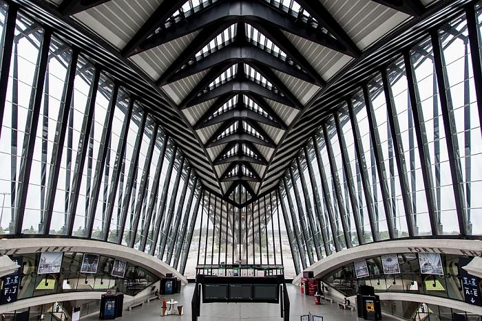 Gare de Lyon-Saint-Exupéry TGV Lyon