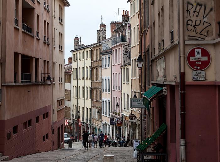 La Croix-Rousse: Montée de la Grande-Côte Lyon