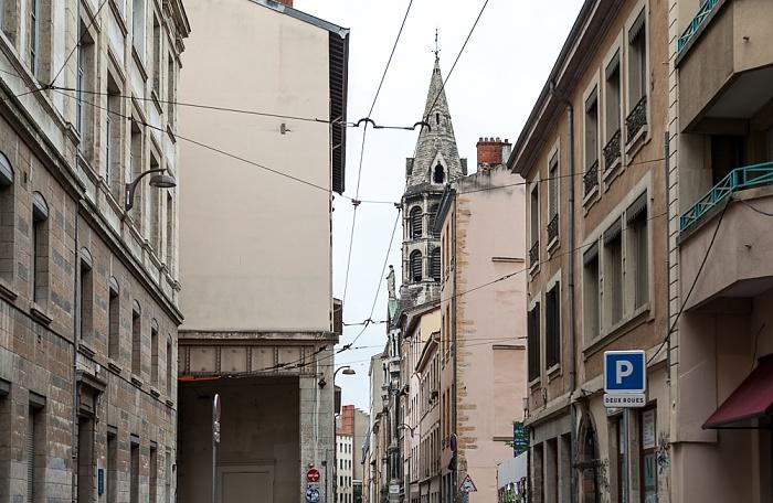 Lyon La Croix-Rousse: Rue Neyret Église du Bon-Pasteur