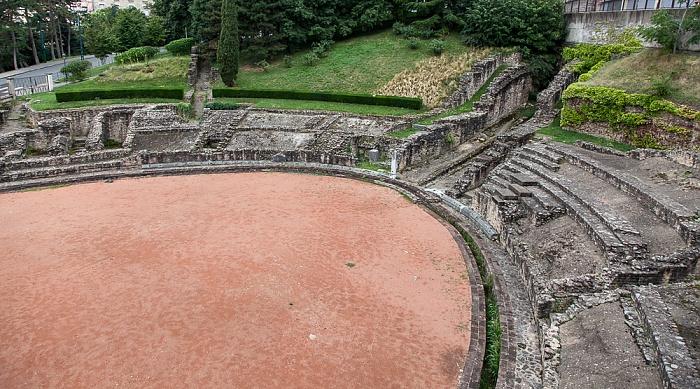 Lyon La Croix-Rousse: Amphithéâtre des Trois Gaules