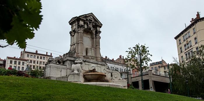 Lyon La Croix-Rousse: Fontaine Burdeau