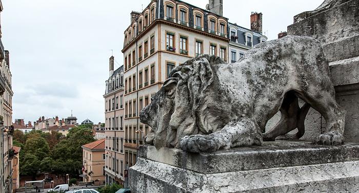 Lyon La Croix-Rousse: Fontaine Burdeau Montée de l'Amphithéâtre